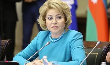 Матвиенко: Россия чегараларини босқичма-босқич очади