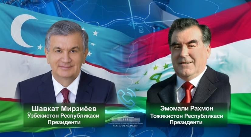 Шавкат Мирзиёев Тожикистон Президентини табриклади
