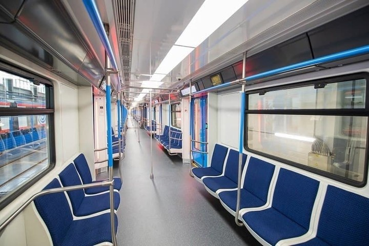 Тошкентга янги метро вагонлари олиб келинмоқда (фото)