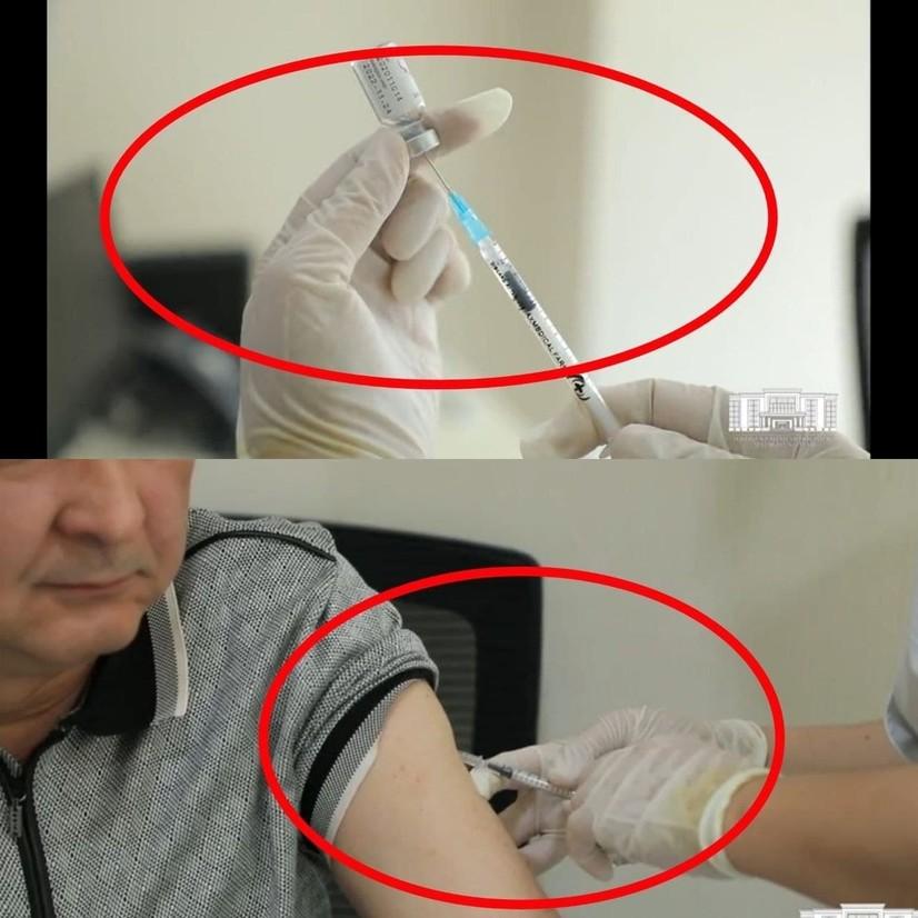 Жаҳонгир Ортиқхўжаев вакцина олди(ми)?