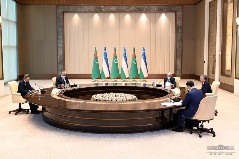 Ўзбекистон Президенти Туркманистон ташқи ишлар вазирини қабул қилди