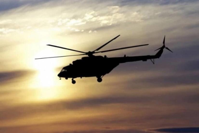 Калифорния соҳилларида ҳарбий вертолёт денгизга қулаб тушди