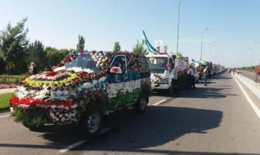 """Наманган шаҳрида Халқаро """"Гуллар фестивали"""" ўтказилади"""