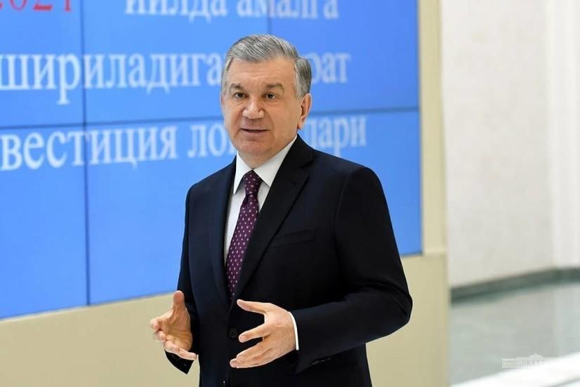 Президент Шавкат Мирзиёев  Жиззах вилоятининг инвестиция лойиҳалари тақдимоти билан танишди