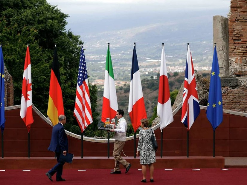"""Катта еттилик"" ка кирмайдиган давлатларнинг ОАВ вакиллари ""G7"" нинг навбатдаги саммитига киртилмайди"