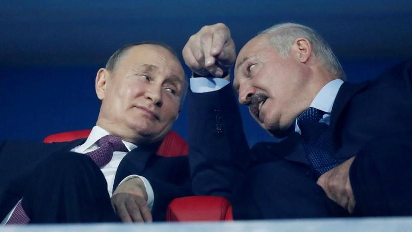Путин ва Лукашенко икки давлат бирлашиши масаласини муҳокама қилади