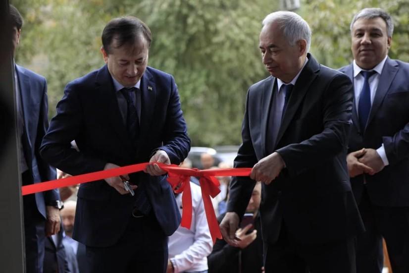 Душанбе шаҳрида Ўзбекистон Савдо уйи очилди