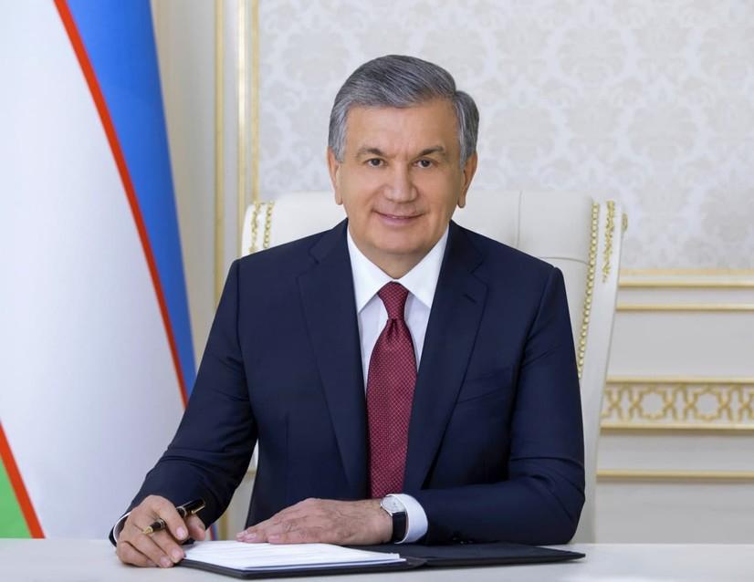 Шавкат Мирзиёевнинг