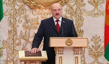 Александр Лукашенко яширин инаугурацияни ўтказди