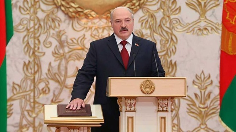 Aleksandr Lukashenko yashirin inauguratsiyani o'tkazdi