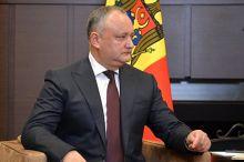Молдова конституцион суди президент ваколатини бекор қилди