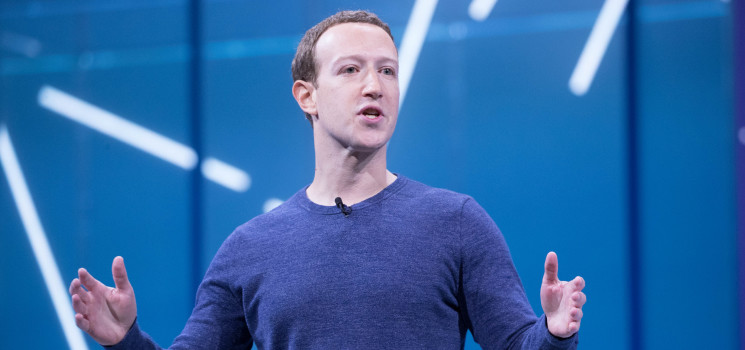 Facebook бойкот қилиниши ортидан Марк Цукерберг $7,2 млрд. йўқотди