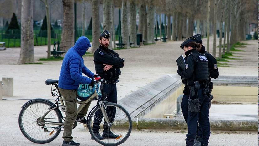 Францияда 5 кун давомида 90 минг киши карантин қоидаларини бузди
