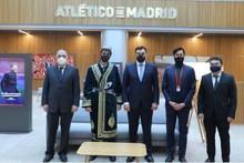 «Atletiko» klubi O'zbekistonda futbol akademiyasi ochish taklifini bildirdi