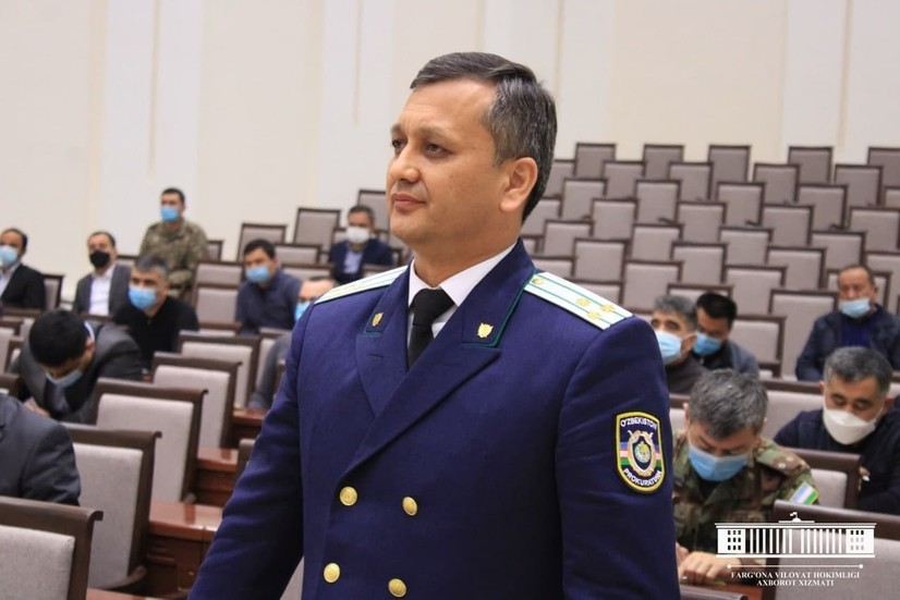 Фарғонага янги прокурор тайинланди