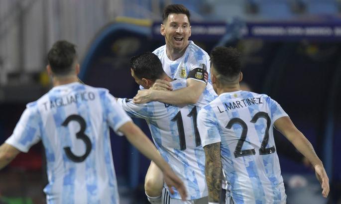 Америка кубоги-2021. Аргентина ярим финалда, Мессидан гол ва иккита голли узатма