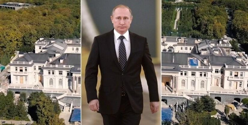 Путин «махфий сарой» ҳақидаги видеога муносабат билдирди