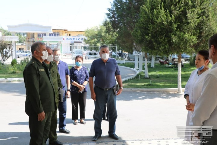 Президент Бош прокурорни Оққўрғонга юборди