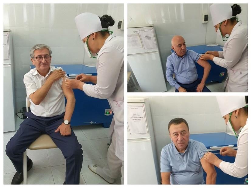 Ўзбекистонда «Мен вакцина олдим» акцияси бошланди