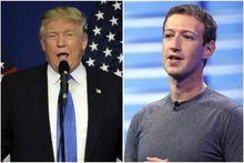 Facebook асосчиси Марк Цукерберг АҚШ Президенти Дональд Трамп билан учрашди