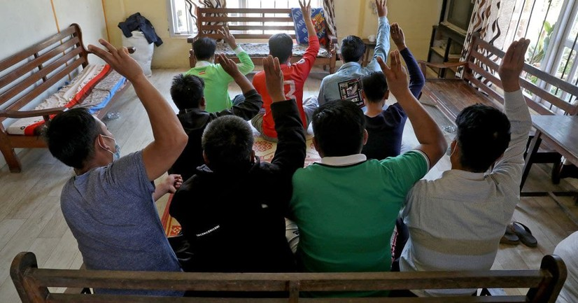 Ҳиндистоннинг чегара штатига Мьянма келган 15000 дан ортиқ одам бошпана излаб келган