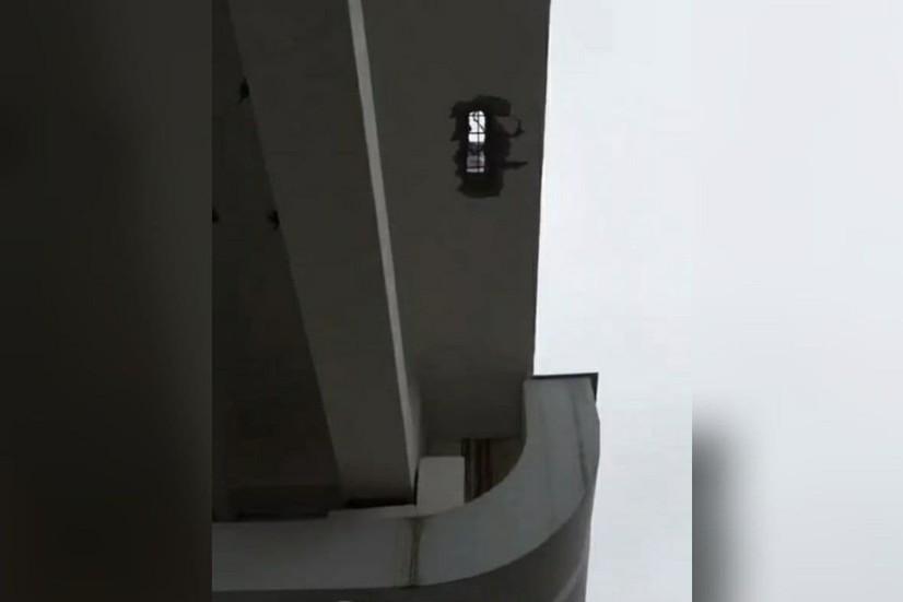 Тошкент ерусти ҳалқа метросининг «Дўстлик-2» бекати яқинида ҳосил бўлган дарча тўғрисида маълумот берилди