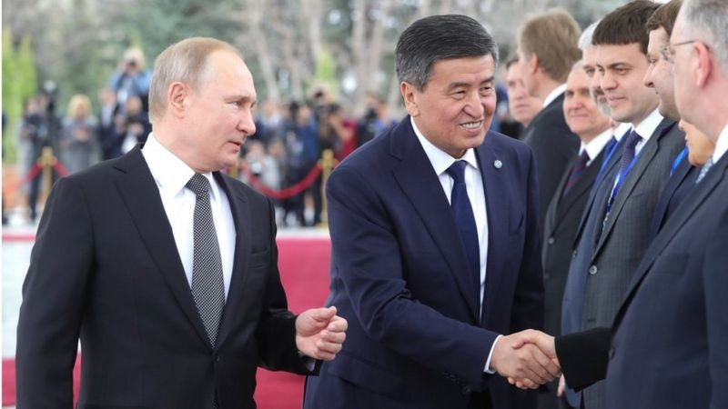 Москва - Бишкек: Россия Қирғизистонга кўмакка келадими?