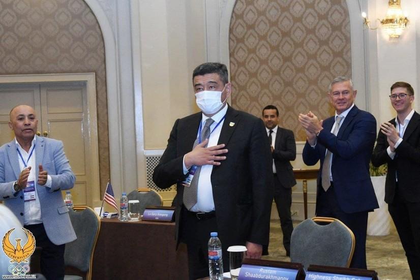 Рустам Шоабдураҳмонов Осиё қиличбозлик конфедерацияси вице-президенти этиб сайланди