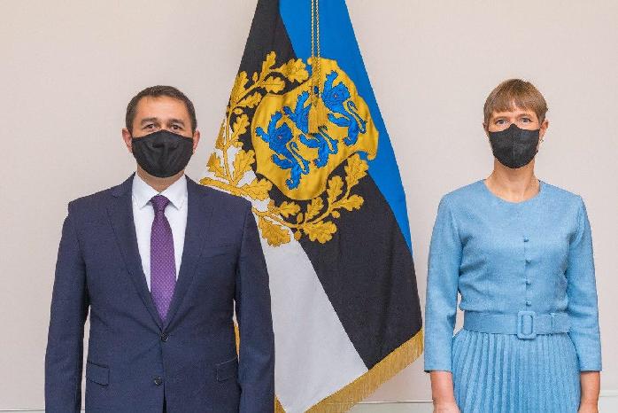Estoniyada O'zbekistonning ilk elchisi akkreditatsiyadan o'tdi