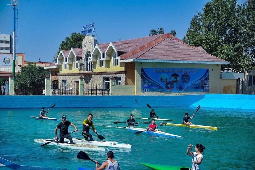 Фарғонада «Ёшлик» сув спорти маркази таъмирдан чиқарилди (фото)