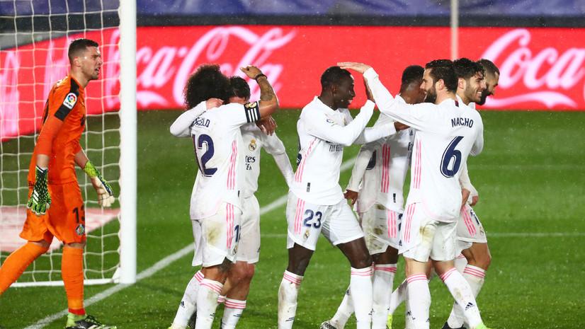 Ла Лига. «Реал Мадрид» қолдирилган тур ўйинида ғалаба қозониб, иккинчи ўринга кўтарилди
