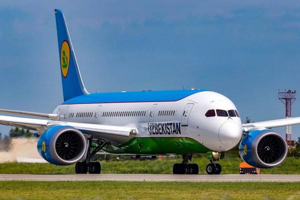 Uzbekistan Airways Японияга рейсларни вақтинча бекор қилмоқда