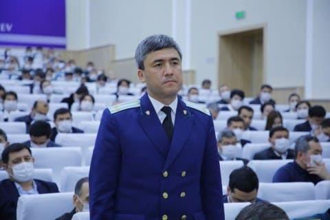 Наманган шаҳрига янги прокурор тайинланди