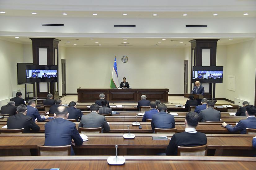 Сенатнинг ўнинчи ялпи мажлиси 12 март куни чақирилади
