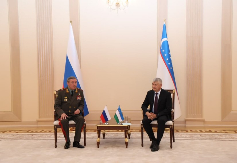 Россия ҳарбий делегациясининг мамлакатимизга ташрифи бошланди