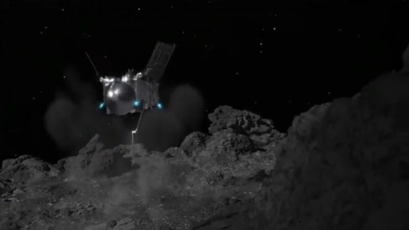 Космик аппарат илк марта астероид сиртига қўнди