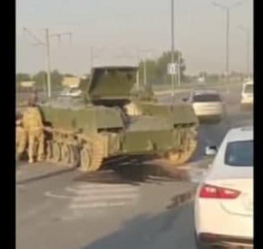 Пастдарғомда танк автоҳалокатга учради