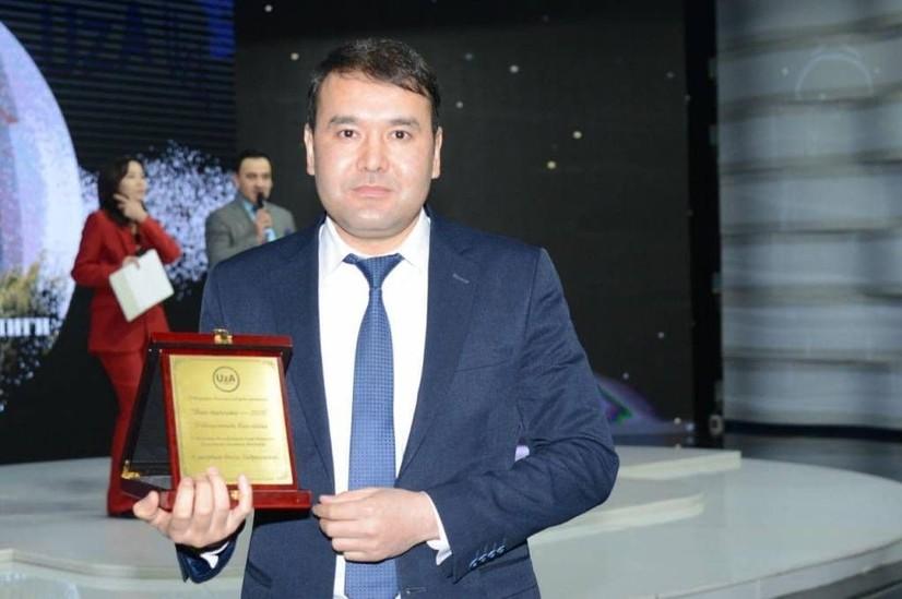 "Расул Кушербоев ""Йил одами"" деб эътироф этилди"
