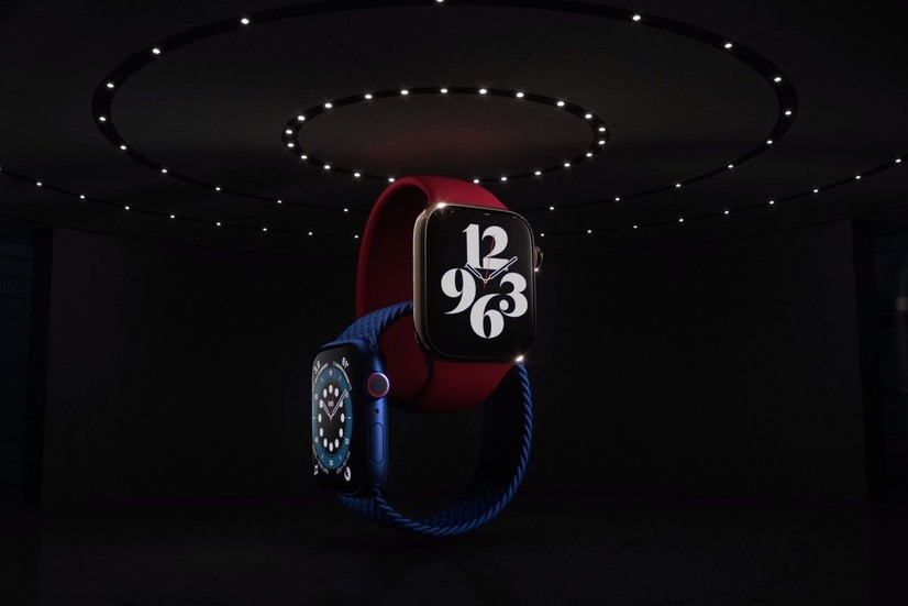 Apple Watch Series 6 намойиш этилди (тавсиф+видео)