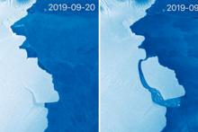 Антарктидада оғирлиги 315 миллиард тонна бўлган айсберг ҳосил бўлди