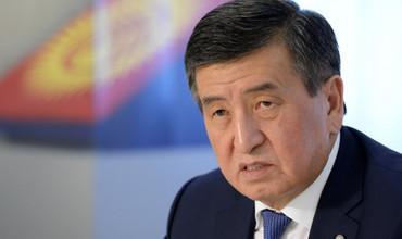 "Қирғизистон. ""Мен қонуний президентман"" – Сооронбай Жээнбеков"