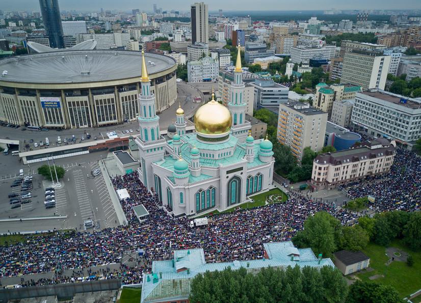 Moskvada bu yil ham Qurbon hayiti namozi jamoat bo'lib o'qilmaydi