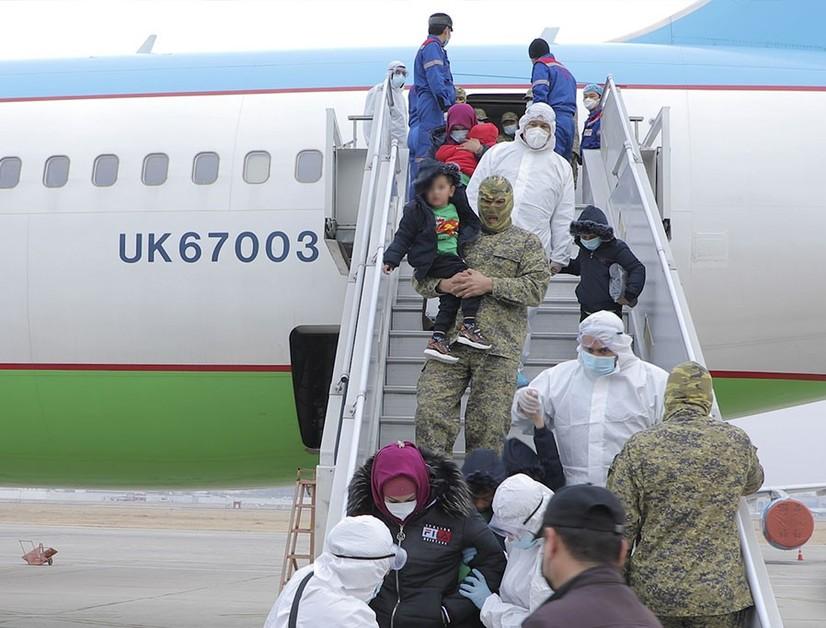 «Меҳр-3» операцияси: Суриядан яна 98 киши Ўзбекистонга қайтарилди