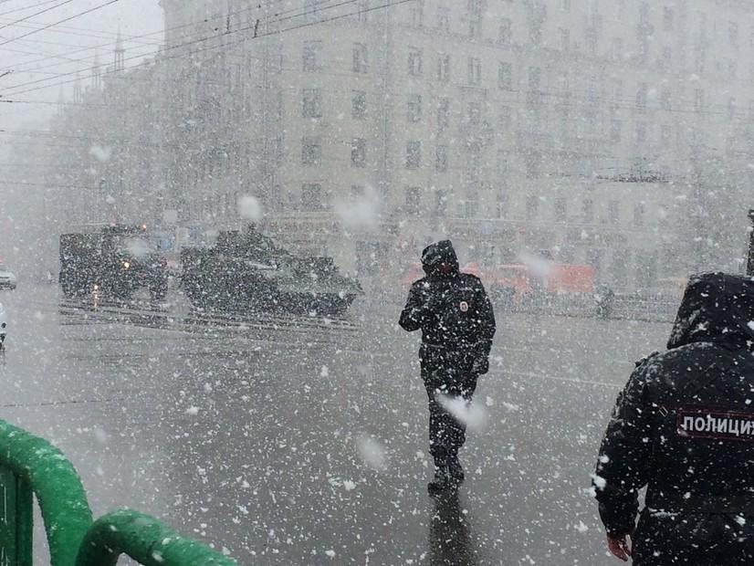 23 февраль Москвада қишнинг энг совуқ куни сифатида қайд этилди