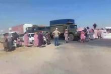 Samarqandda bir guruh fuqarolar gaz yo'qligi sababli norozilik bildirib, yo'lni to'sib qo'ydi