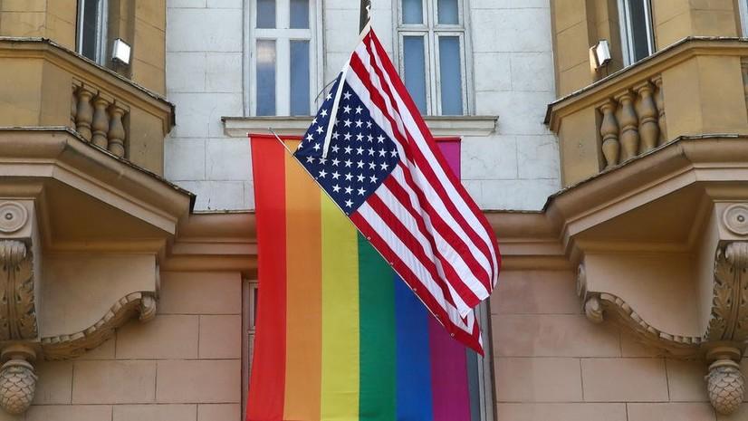 Бирлашган Aраб Aмирлигида ЛГБТ байроғи кўтарилди