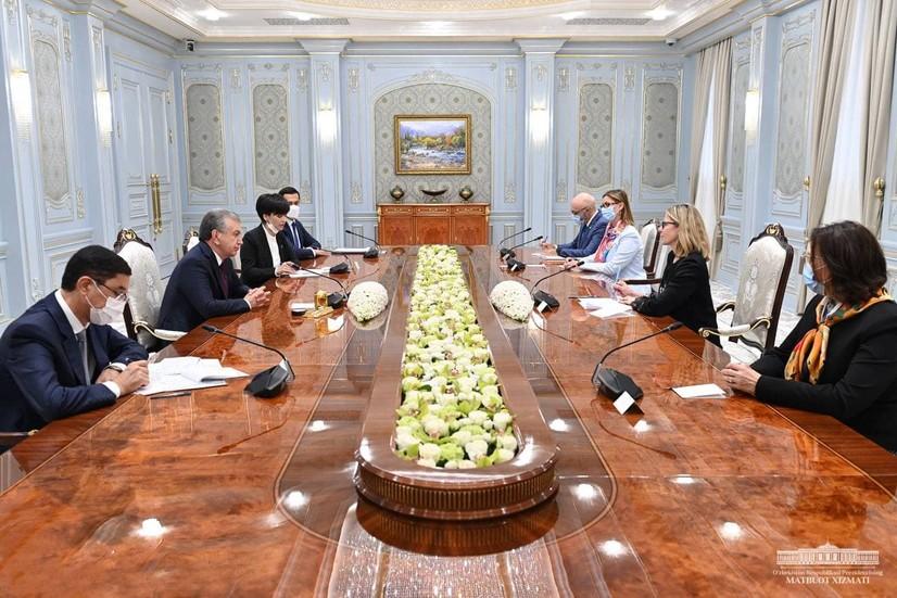 Ўзбекистон Президенти Жаҳон банки делегацияси билан янги ҳамкорлик дастурини муҳокама қилди