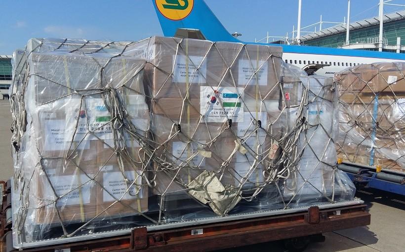 Жанубий Корея Ўзбекистонга 1 миллион долларлик тиббий воситалар юборди
