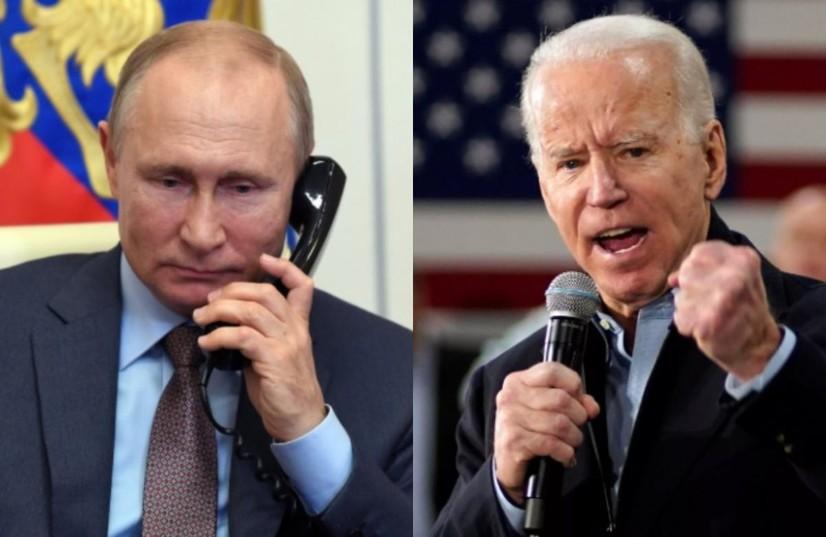 Байден ва Путин телефон орқали хакерлар ҳужумлари билан боғлиқ масалаларни муҳокама қилди