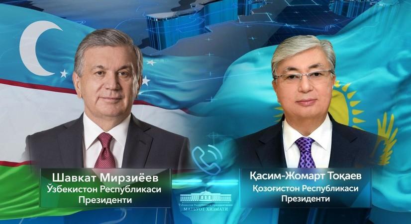 Мирзиёев Тоқаев билан Сардобадаги фожиа оқибатларини бартараф этиш масаласида гаплашди